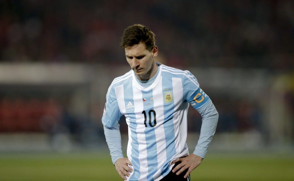 Lionel Messi was heartbroken after losing his third international final in a row and announced his international retirement but is reportedly set for a sensational return to international fold. (Picture Courtesy - AFP/Getty Images)