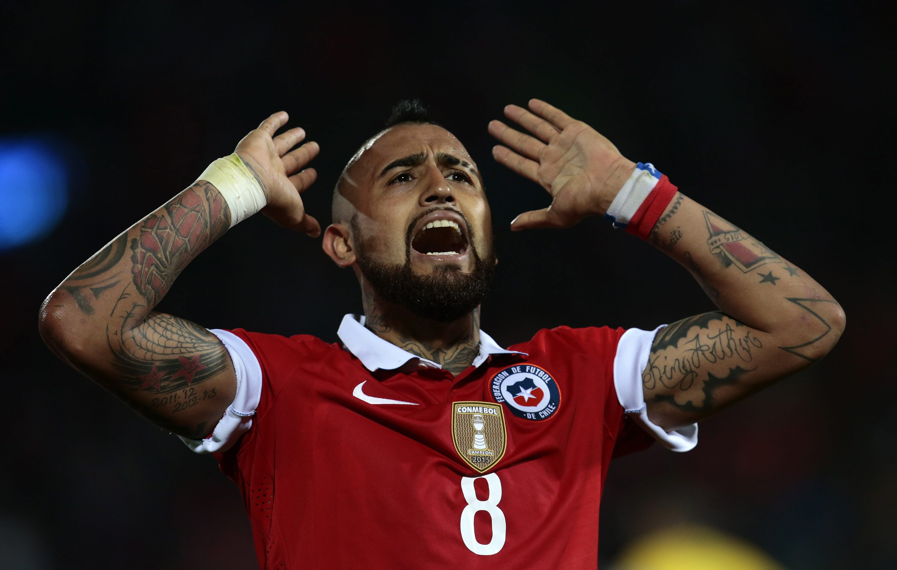 Arturo Vidal will be hoping to star against Japan. (Photo courtesy: AFP/Getty)