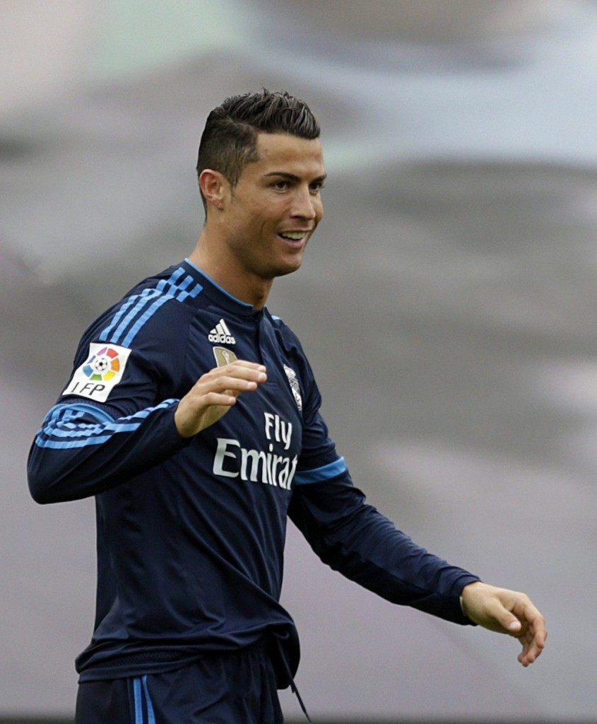 Cristiano Ronaldo opened the scoring for Real Madrid