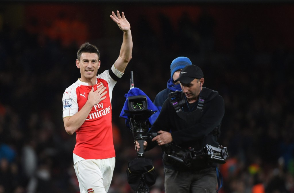Koscielny's return to fitness is a major boost for Arsenal. EPA/WILL OLIVER