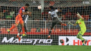 All the goals that Atletico de Kolkata have conceded, have come from aerial balls.