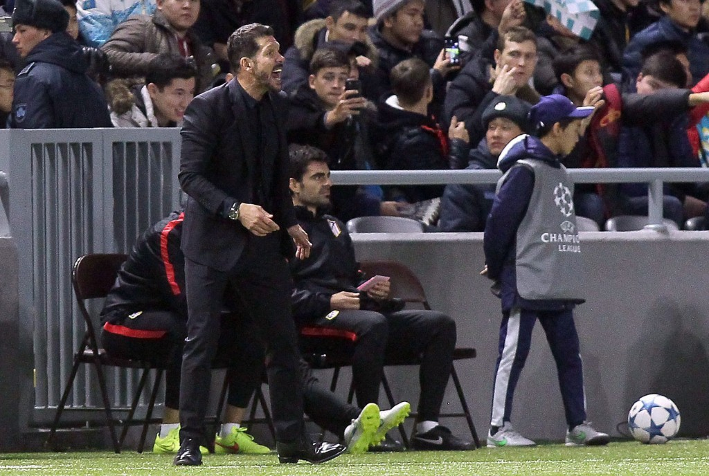 Diego Simeone delighted with Atletico Madrid win