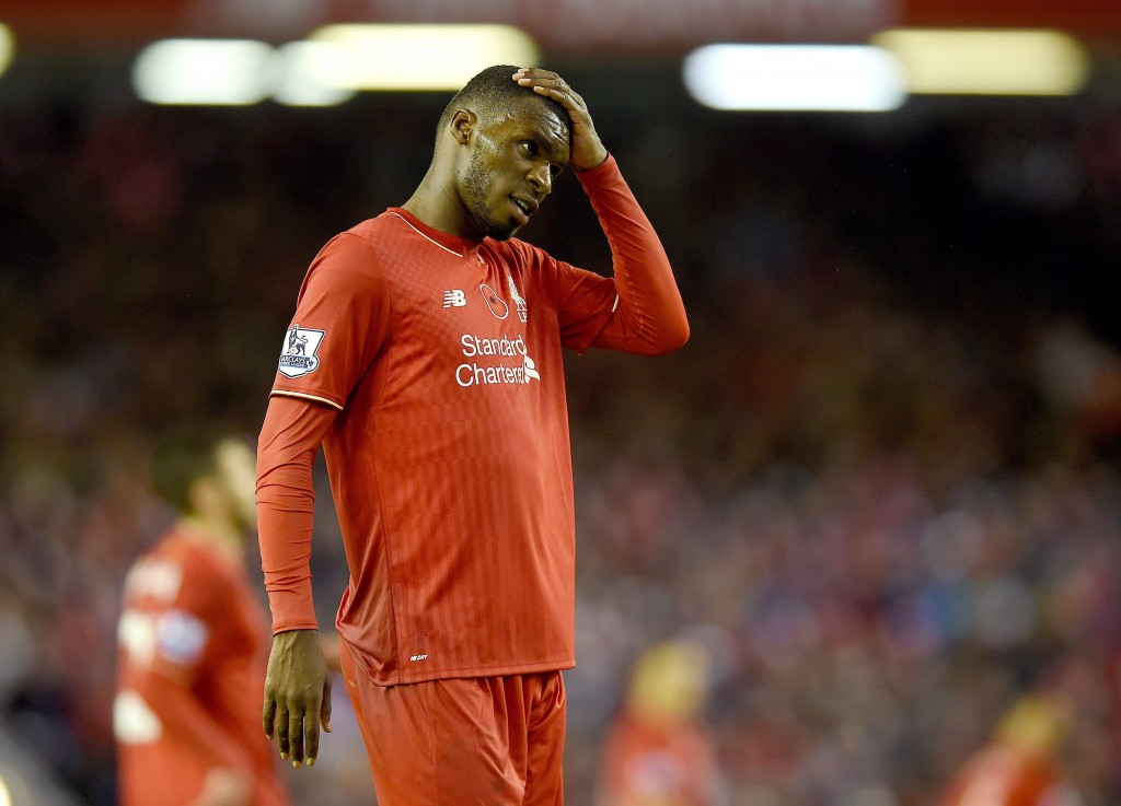 Christian Benteke could become the first Liverpool player in the last 24 years to move to crosstown rivals Everton from Anfield. (Picture Courtesy - AFP/Getty Images)