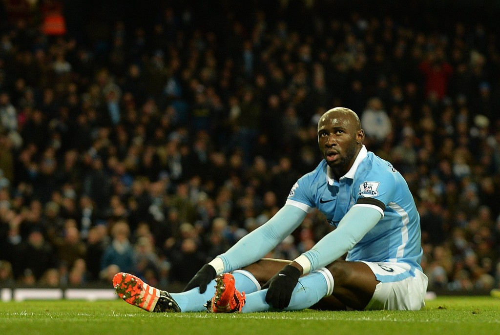 Eliaquim Mangala has failed to make it into Pep Guardiola's plans at Manchester City and is likely to leave the club before the end of the transfer window. (Picture Courtesy - AFP/Getty Images)