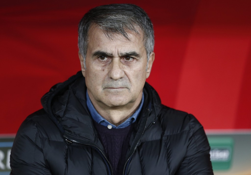 Will Senol Gunes oversee a change in fortunes for Turkey? (Photo by AFP/Getty Images)