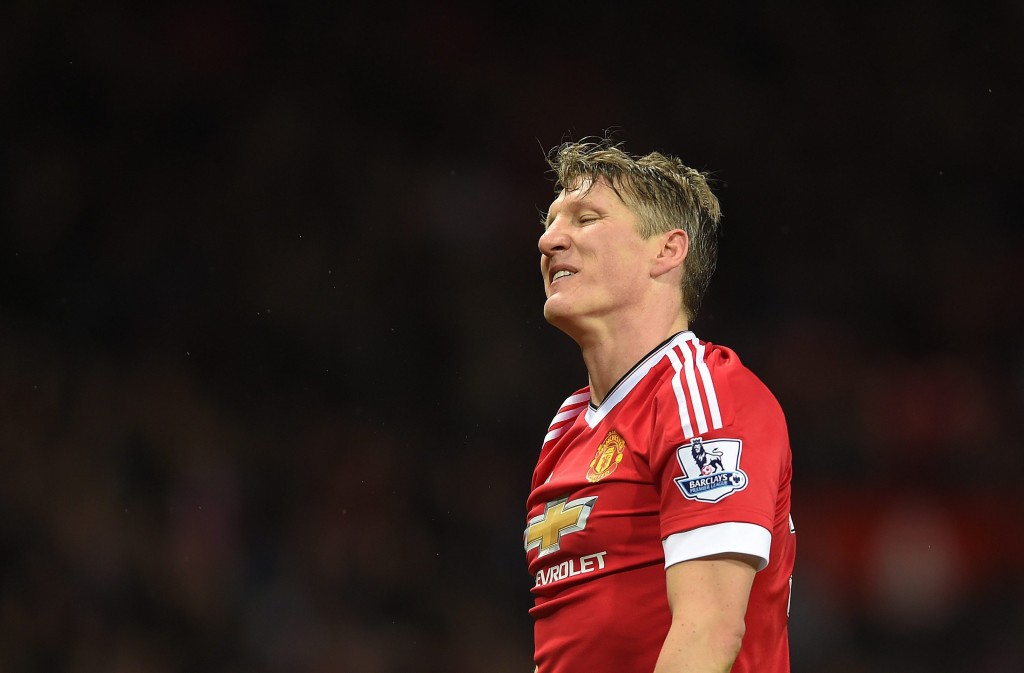 Schweinsteiger has failed to make his mark at Manchester United but is seemingly set to stay put at Old Trafford and bide his time much to the frustration of Jose Mourinho. (Picture Courtesy - AFP/Getty Images)