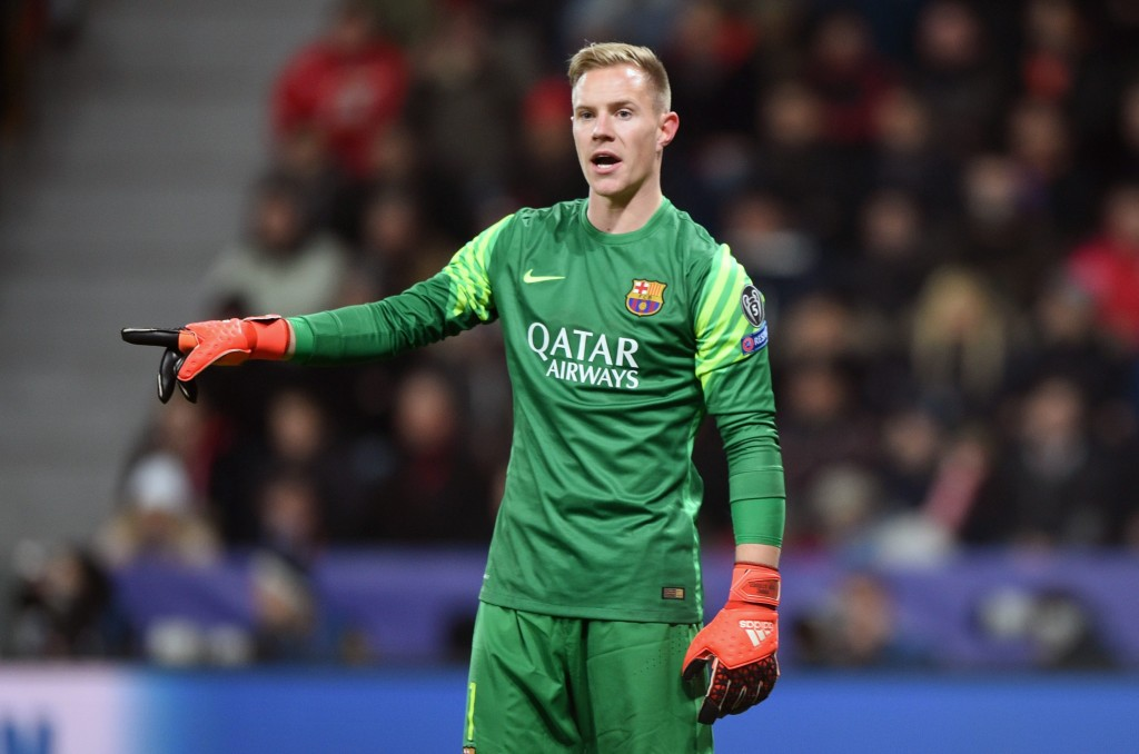 Ter Stegen feels he deserves a more important role between the sticks and is reportedly ready to leave Barcelona in order to do so. (Picture Courtesy - AFP/Getty Images)
