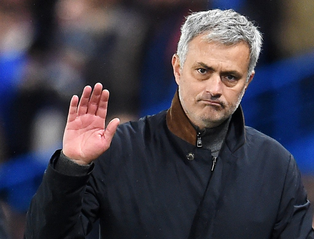 epa05072857 (FILES) A file picture dated 09 December 2015 shows Chelsea manager Jose Mourinho during the UEFA Champions Leagues group G soccer match against FC Porto at Stamford Bridge in London, Britain. Chelsea manager Mourinho has been sacked on 17 December 2015. EPA/ANDY RAIN