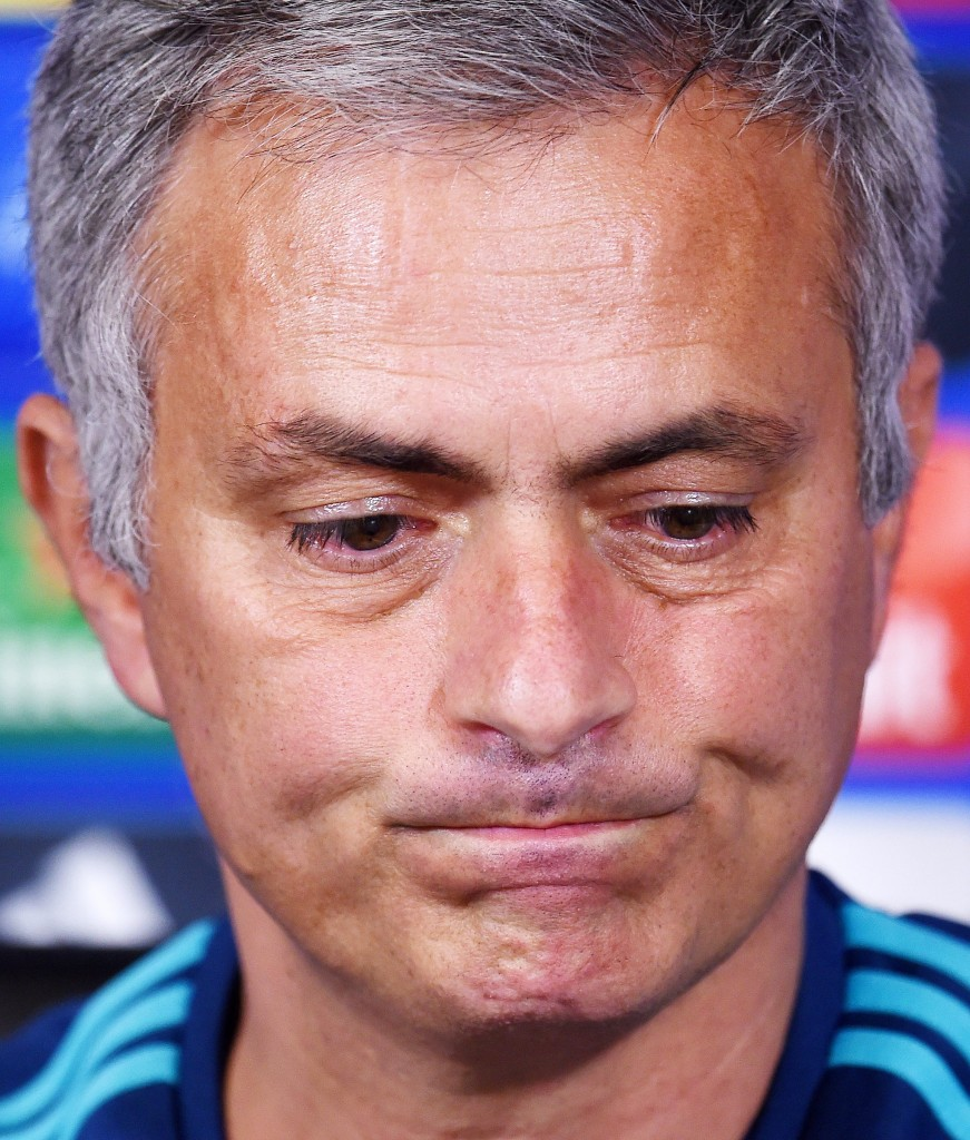 Mourinho has expressed his disappointment at the prospect of playing in front of a limited capacity crowd on Thursday night. (Picture Courtesy - AFP/Getty Images)