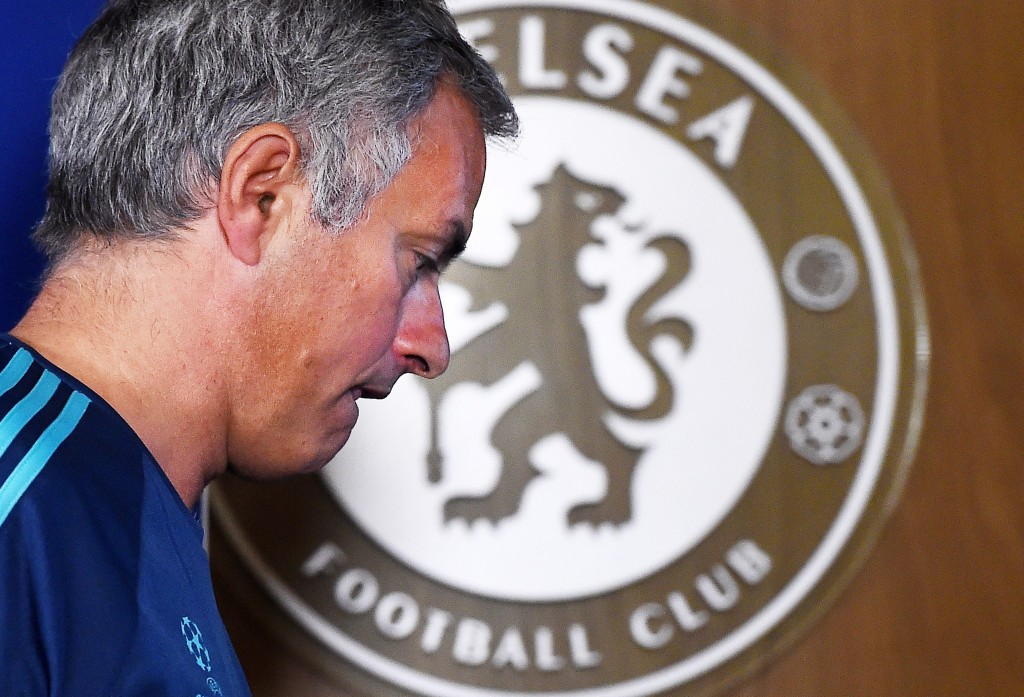 A calamitous end to Jose's second spell. (Picture Courtesy - AFP/Getty Images)