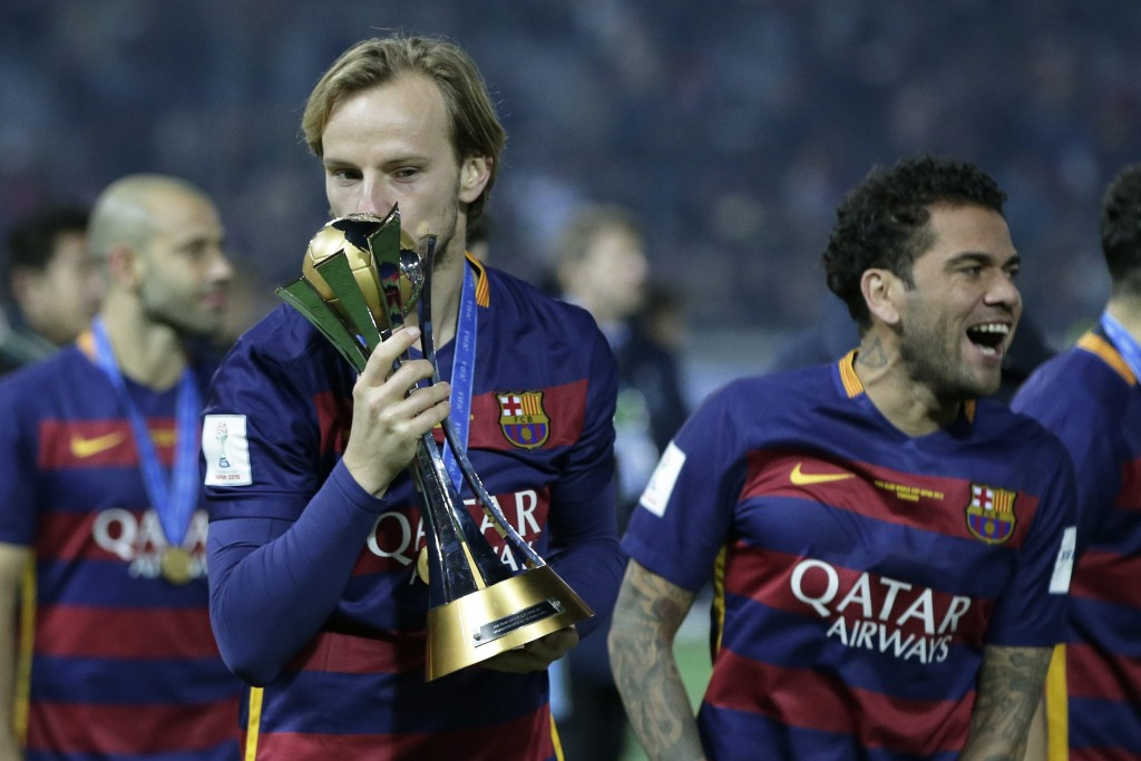 Rakitic has been a pivotal part of Barcelona's recent successes in all competitions and Luis Enrique would be happy to hear the Croatian decided to stay at Barcelona despite receiving offers from Manchester United and Chelsea. (Picture Courtesy - AFP/Getty Images)