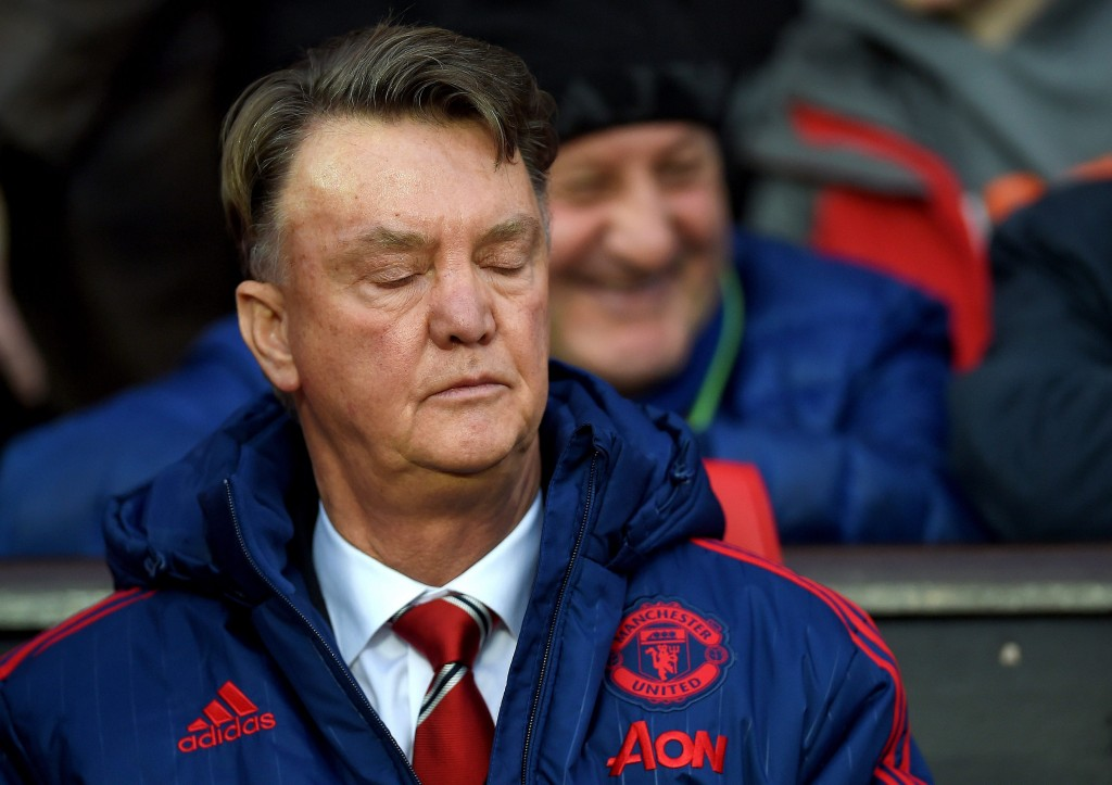 Van Gaal after 0-2 against Stoke: 'I can quit by myself'