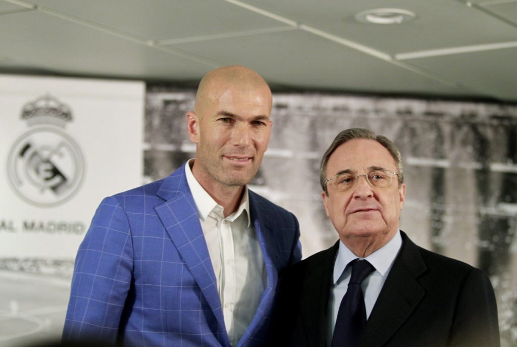 Zinedine Zidane takes over Real Madrid from sacked Benitez