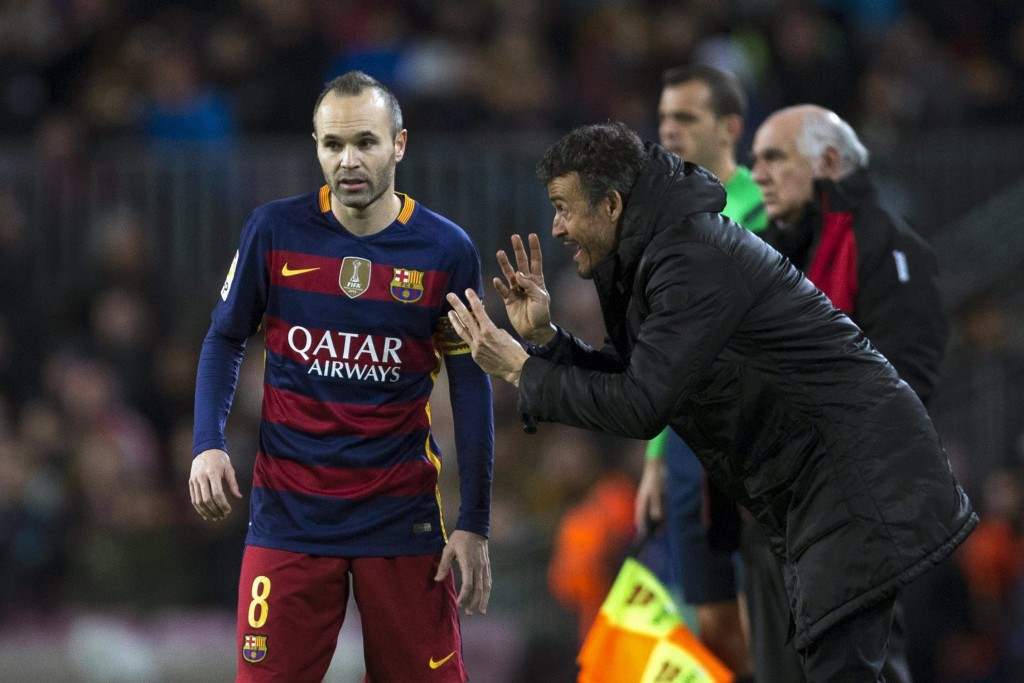 Iniesta's absence is likely to have an affect on Barcelona's performance but Luis Enrique would hope his side can avoid a hiccup in the season opener against Real Betis. (Picture Courtesy - AFP/Getty Images)