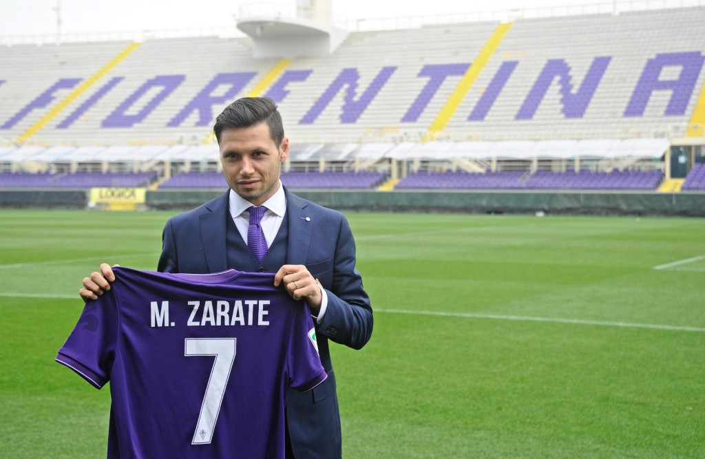 Zarate presentation in Florence