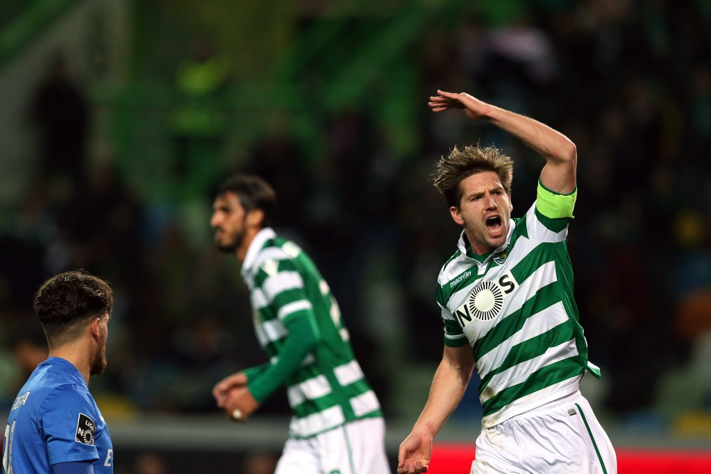 Adrien Silva was hopeful of a move to Leicester but Bastian's refusal to join Sporting is likely to put a spanner in the works. (Picture Courtesy - AFP/Getty Images)