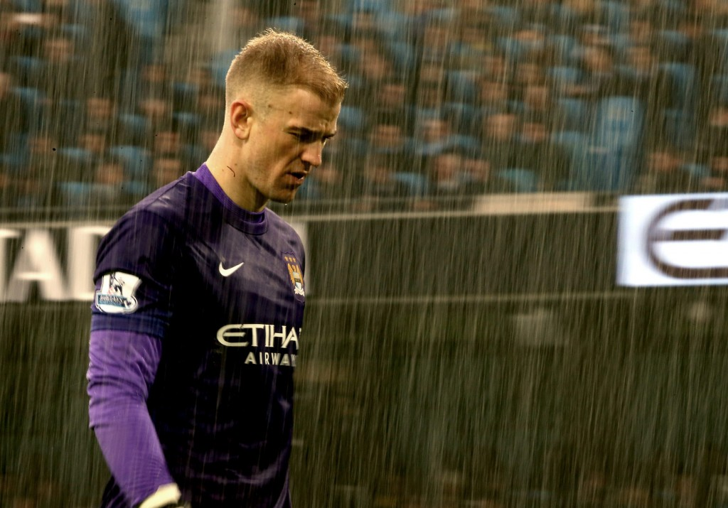 Joe looks Hart-broken at Manchester City under Pep Guardiola. (Picture Courtesy - AFP/Gety Images)