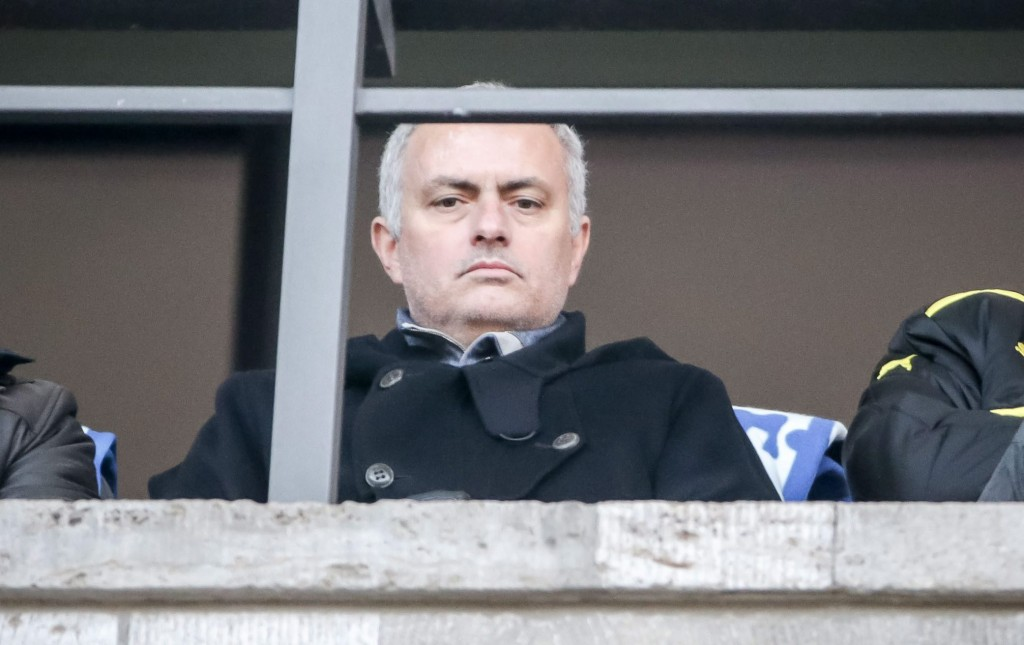 With the absence of Aguero coupled with a fully fit squad at his disposal, Mourinho appears to be in the hot-seat ahead of the derby. (Picture Courtesy - AFP/Getty Images)