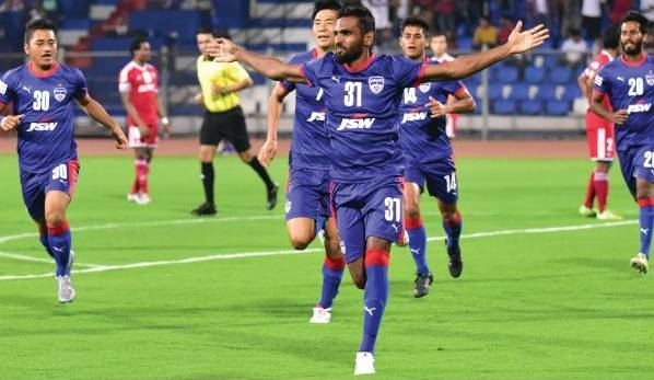 CK Vineeth has impressed for Bengaluru FC