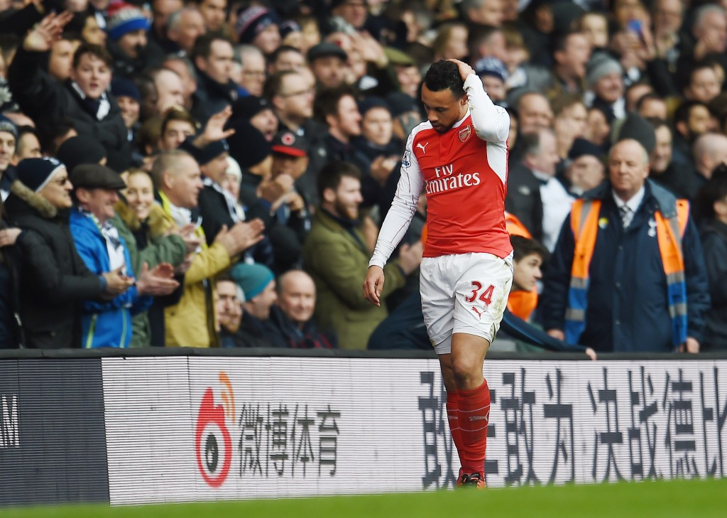 Coq just can't block. (Picture Courtesy - AFP/Getty Images)