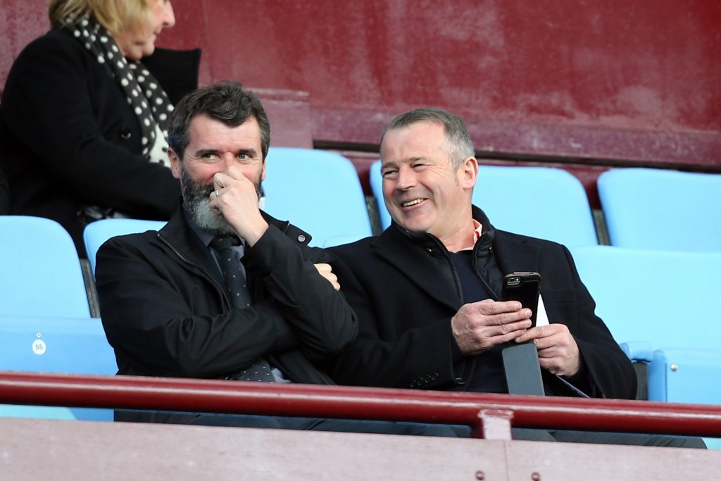 Now the assistant manager of Republic Of Ireland, Keane remains an Old Trafford legend. (Picture Courtesy - AFP/Getty Images)