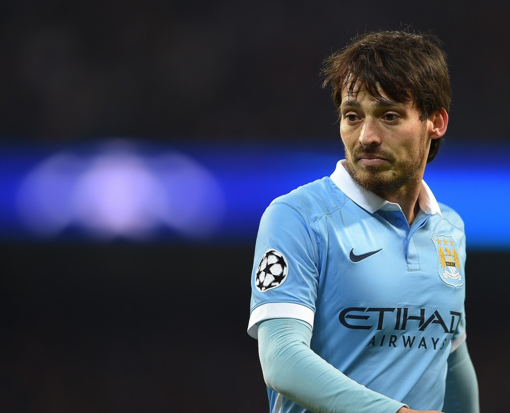 David Silva is truly one of Manchester City's best. (Photo by EPA/Peter Powell)