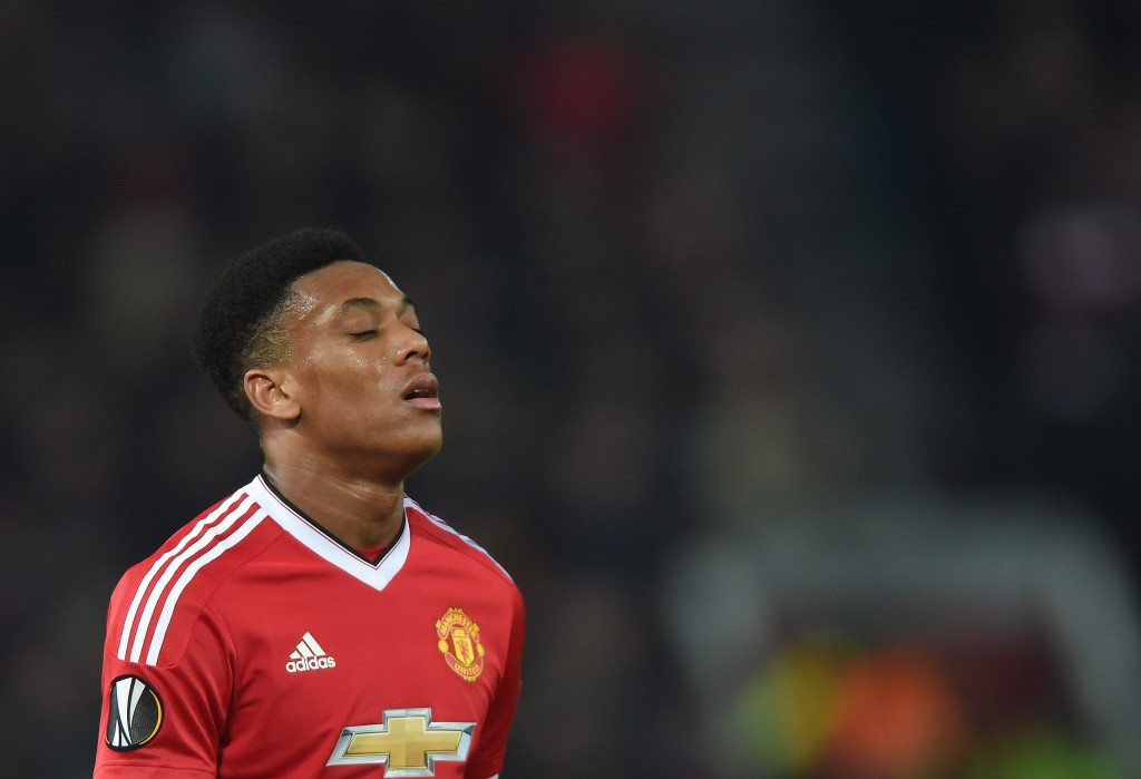 Time for Anthony Martial to live up to the 'Henry' hype? (Photo by Peter Powell/EPA)