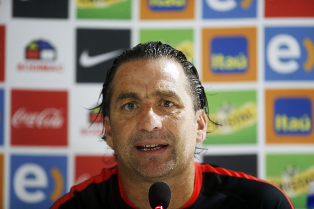 Press meeting of the head coach of Chilean national team