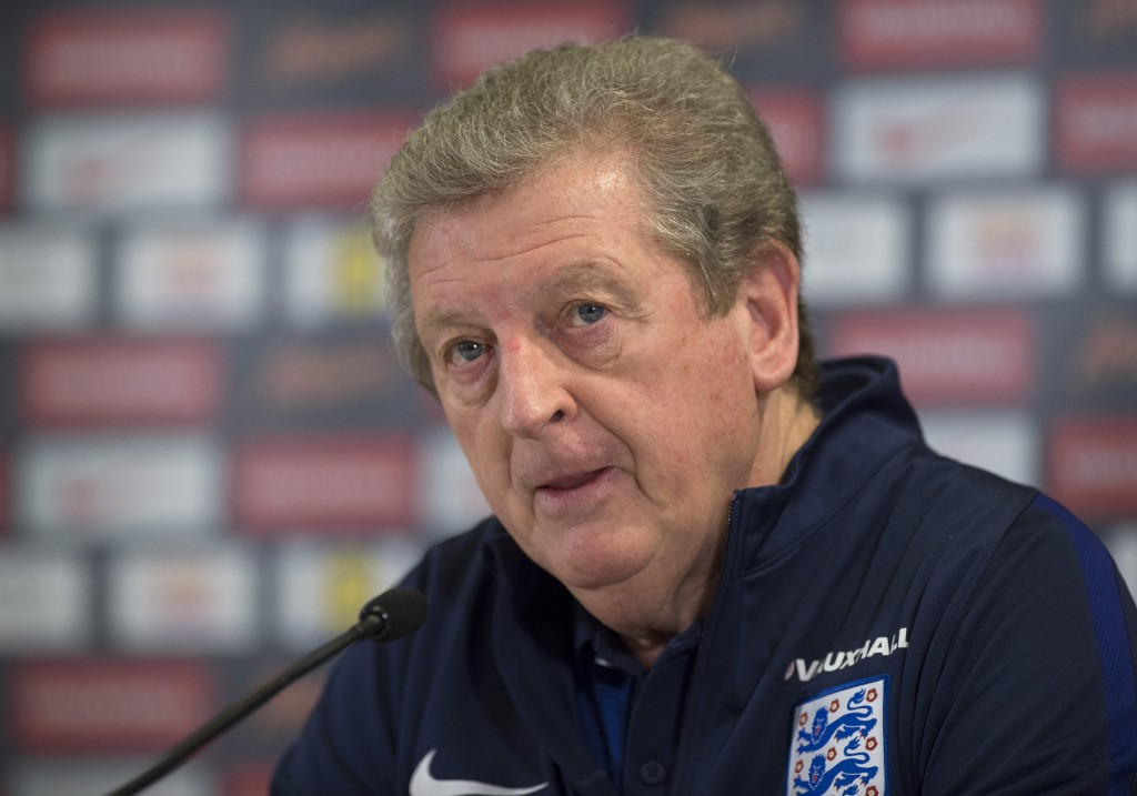 English national soccer team press conference