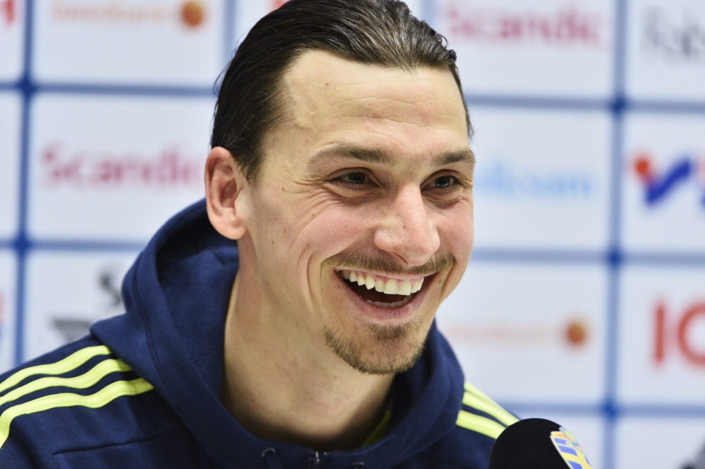 Zlatan would be happy at being made a vice-captain at United as he looks forward to his debut season with the Red Devils. (Picture Courtesy - AFP/Getty Images)