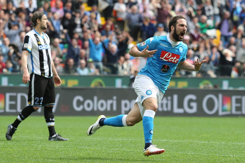 The jury's still out on Higuain. (Photo by Lancia/EPA)