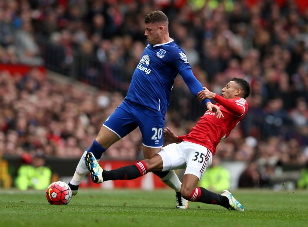 Barkley is the complete midfielder for Manchester United as per the statistics as the player outshines even the Juventus superstar Paul Pogba (Picture Courtesy - AFP/Getty Images)