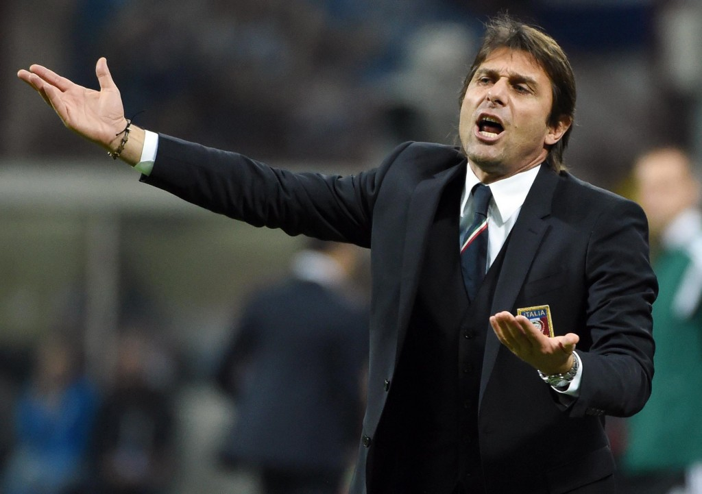 Likely reaction of Conte and Chelsea fans right now. (Picture Courtesy - AFP/Getty Images)