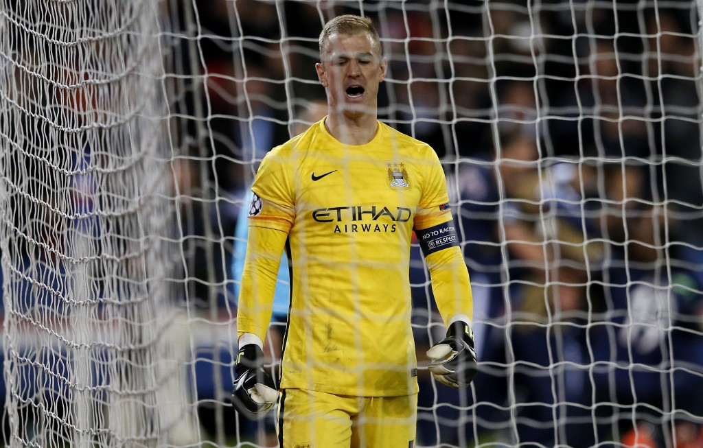 Who's going to catch City's Hart? (Picture Courtesy - AFP/Getty Images)