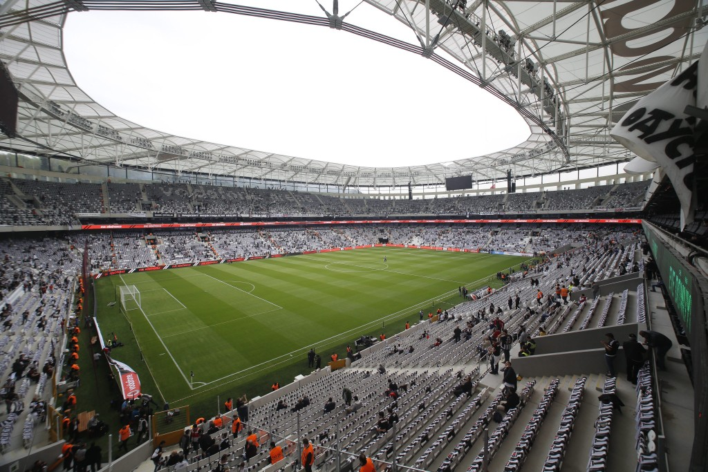 Besiktas new stadium Vodafone Arena Picture Credits: AFP/Getty Images