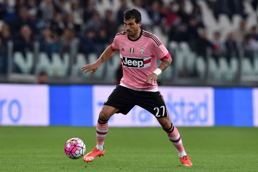 TURIN, ITALY - SEPTEMBER 23: Stefano Sturaro of Juventus FC in action during the Serie A match between Juventus FC and Frosinone Calcio at Juventus Arena on September 23, 2015 in Turin, Italy. (Photo by Valerio Pennicino/Getty Images)