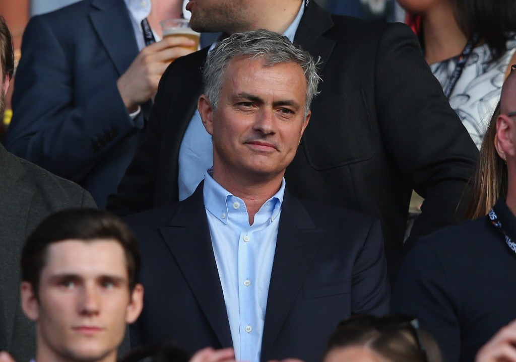 MANCHESTER, ENGLAND - JUNE 05: Jose Mourinho the manager of Manchester United looks on during the Soccer Aid 2016 match in aid of UNICEF at Old Trafford on June 5, 2016 in Manchester, England. (Photo by Alex Livesey/Getty Images)