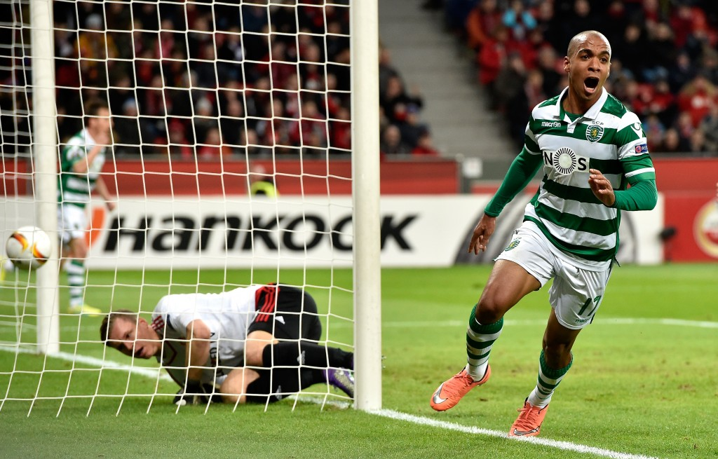 """Bernabeu calling"" - Joao Mario could be set for a switch to Liga BBVA giants Real Madrid. (Picture Courtesy - AFP/Getty Images)"