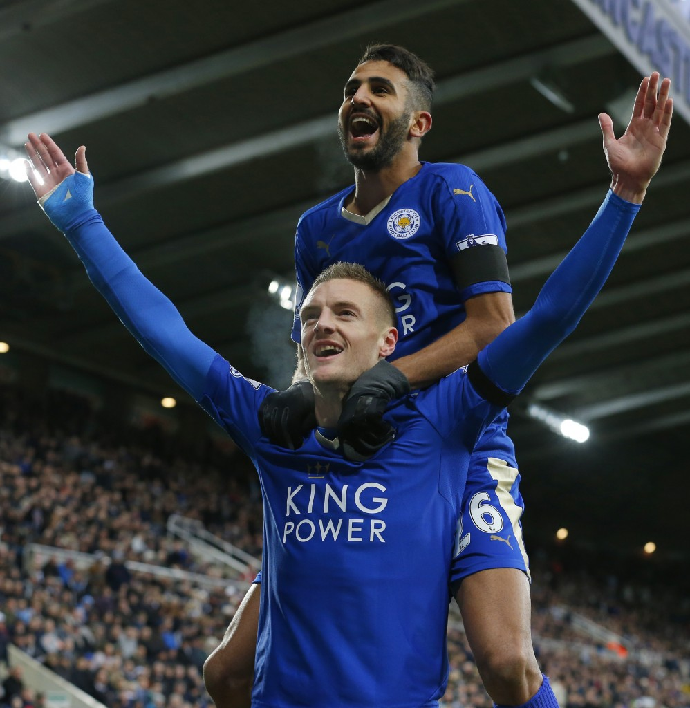 Mahrez has reportedly decided to leave the Premier League champions for a dream move to Arsenal after giving a good account of himself with the Blues during his two-and-a-half years' stay. (Picture Courtesy - AFP/Getty Images)