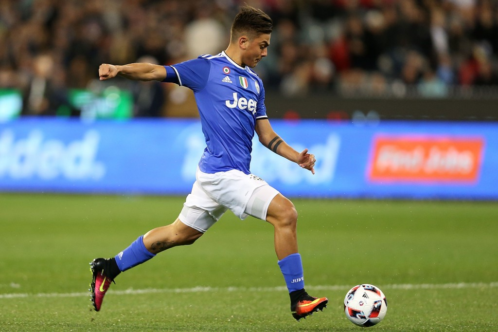 Paulo Dybala scored Juventus' opener in the friendly as the Tottenham defenders had trouble dealing with the forward. (Picture Courtesy - AFP/Getty Images)