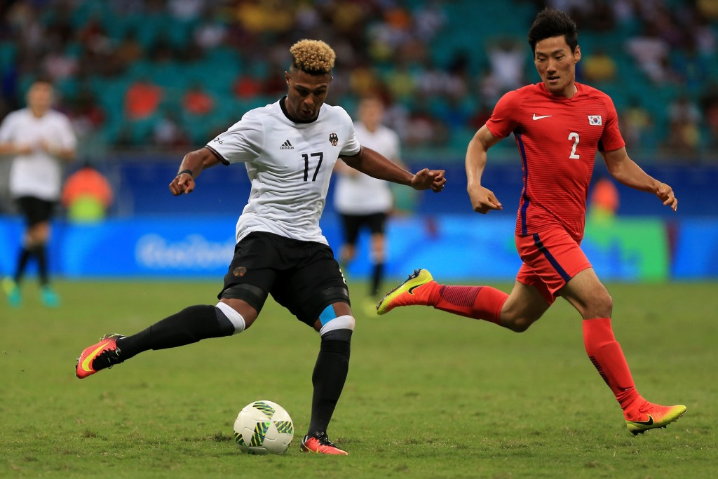 Serge Gnabry would aim to 'keep his head down' and work hard while on loan at Werder Bremen to prove Arsene Wenger he deserves a shot at regular first-team football at Arsenal. (Picture Courtesy - AFP/Getty Images)
