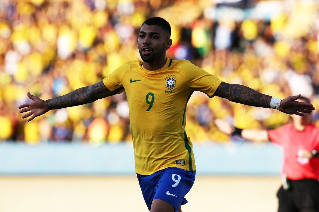 Gabigol has been labelled as the future of Brazilian football and has been tipped to lead the Samba front line in the years to come. (Picture Courtesy - AFP/Getty Images)