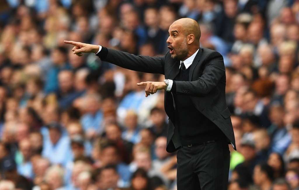One on the right and another on the left of the defence - Guardiola's command to City negotiators. (Picture Courtesy - AFP/Getty Images)