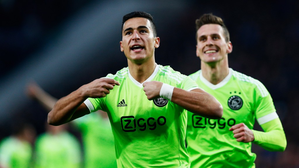 Anwar El Ghazi has quickly become a household name in Netherlands and the 21-year-old could be set to dazzle the Serie A as AC Milan look to seal a deal for the youngster. (Picture Courtesy - AFP/Getty Images)
