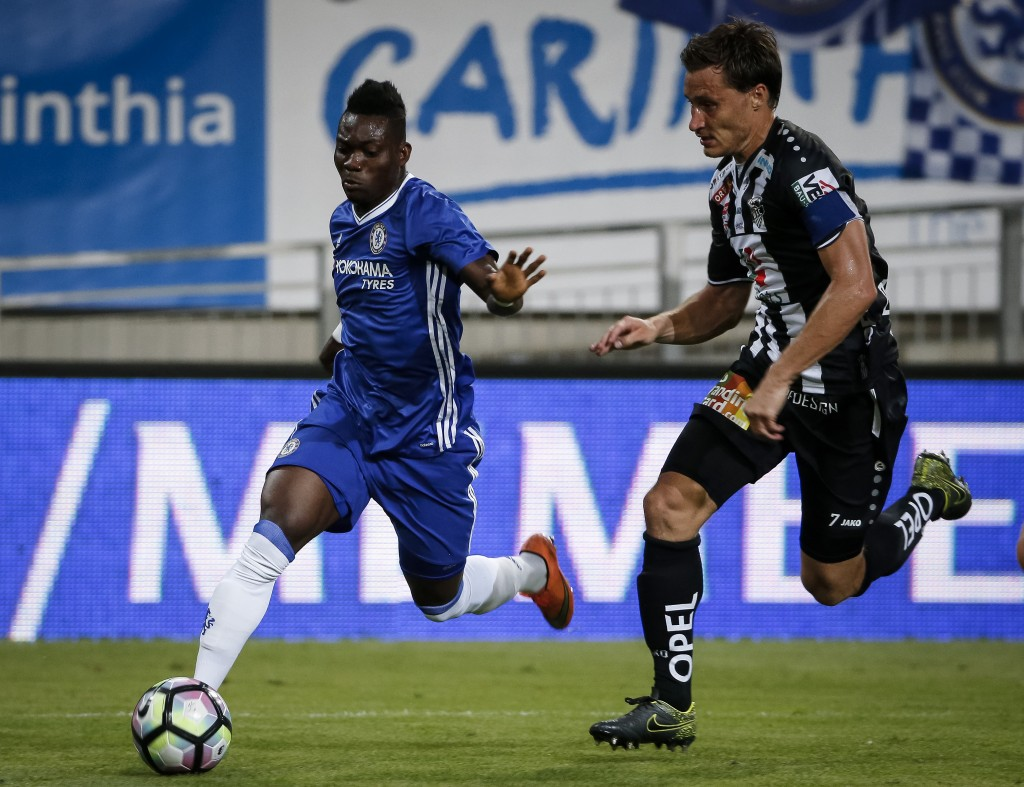 Christian Atsu has failed to make a single appearance in three years for Chelsea and could be set for another loan move with Newcastle reportedly in advanced talks with the Blues. (Picture Courtesy - AFP/Getty Images)