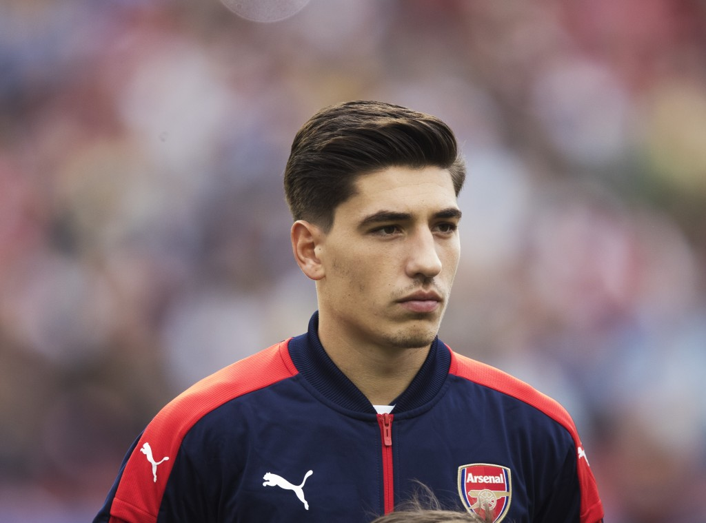 GOTHENBURG, SWEDEN - AUGUST 07: Hector Bellerin of Arsenal during the Pre-Season Friendly between Arsenal and Manchester City at Ullevi on August 7, 2016 in Gothenburg, Sweden. (Photo by Nils Petter Nilsson/Ombrello/Getty Images)