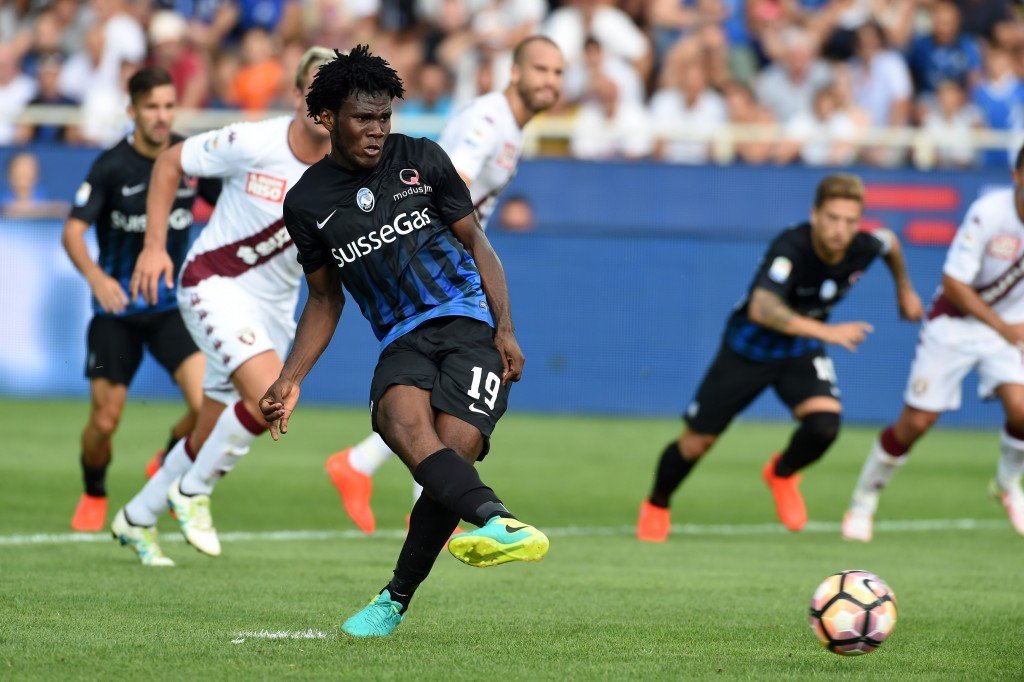 Kessie has captured the imagination of the Serie A followers with a magical start to the season and the 19-year-old has already made public of his affection towards Manchester United. (Picture Courtesy - AFP/Getty Images)