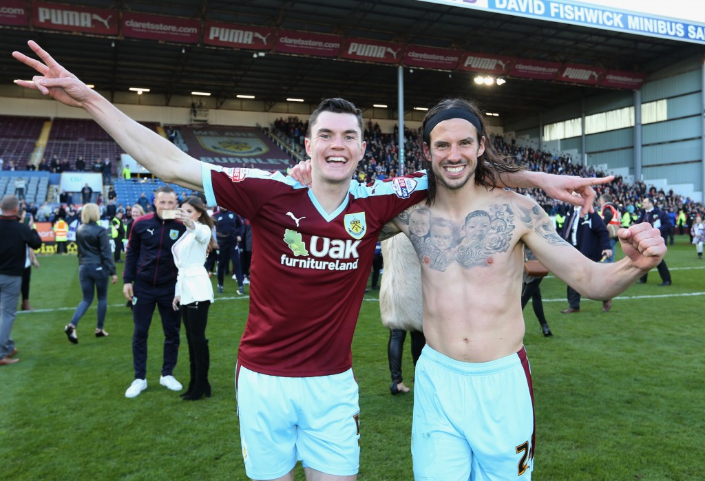 Michael Keane was an integral part of Burnley's promotion campaign and has impressed in the Premier League thus far this season with Chelsea planning a swoop for the U21 international in January. (Picture Courtesy - AFP/Getty Images)