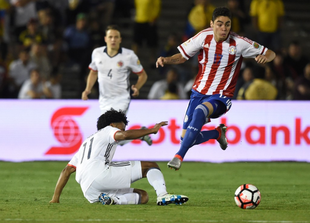 Miguel Almiron has impressed in his performances for Lanus and Paraguay in the recent past. (Picture Courtesy - AFP/Getty Images)