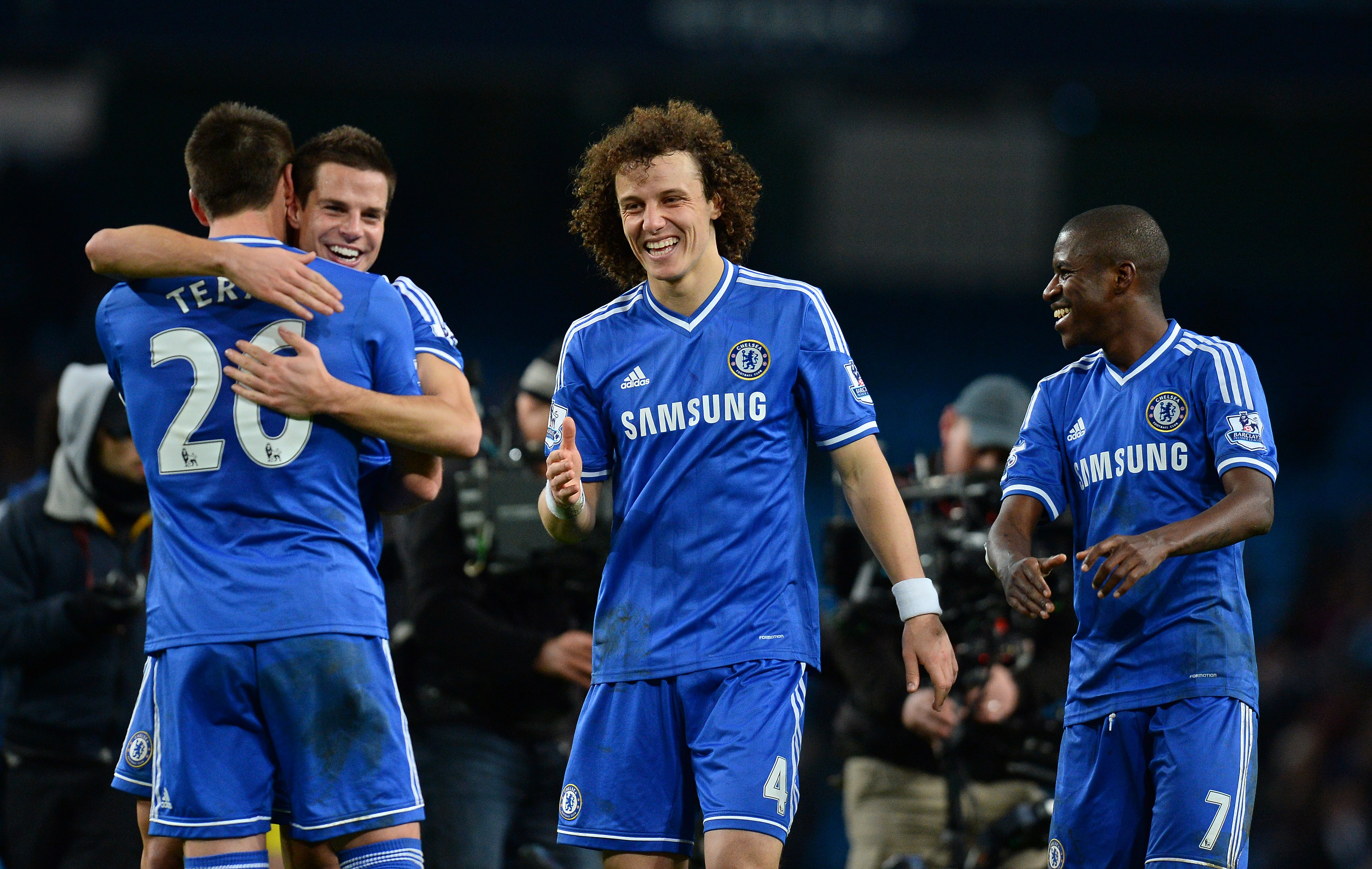 David Luiz believes Chelsea need to stay 'awake' to win the title (Photo courtesy ANDREW YATES/AFP/Getty Images)